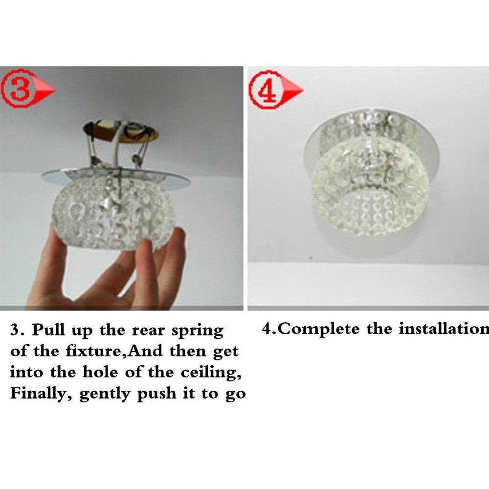 HTB1LCBtaEjrK1RkHFNRq6ySvpXab ANTINIYA Modern Crystal LED Ceiling Lamp Ceiling Light Fixture Lighting Ceiling Lights For Living Room Aisle Corridor Kitchen