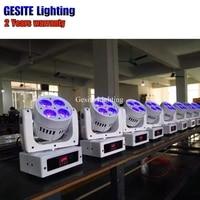 2pcs New super brightness led beam wash 4X10w mini beam moving head disco stage effect light
