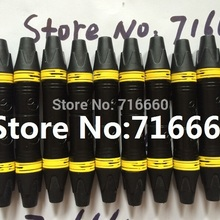Neutrik-Style Xlr-Connector for Hot-Selling 20pcs/Lot Cannon Female 3-Pins High-Quality