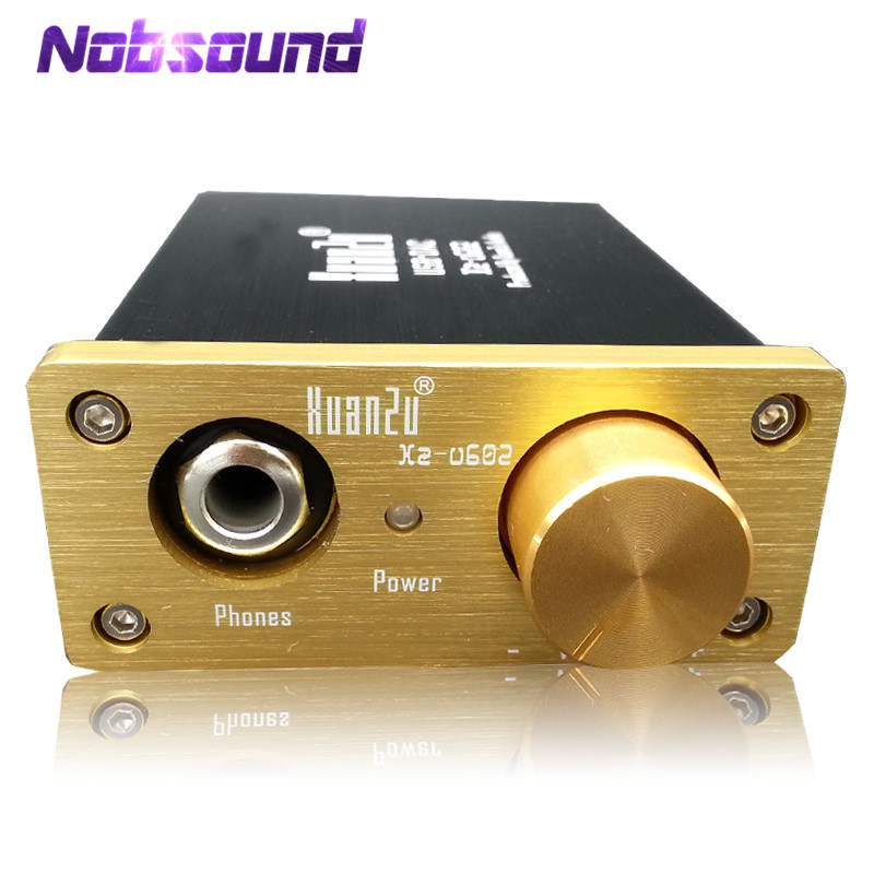 Nobsound Hi-Fi Mini Multi-functional PC Sound Card Coaxial / Optical / USB DAC & Headphone Amplifier nobsound mini es9038 xmos coaxial optical csr8675 bluetooth5 0 aptx hd usb dop dac headphone amplifier digital analog converter