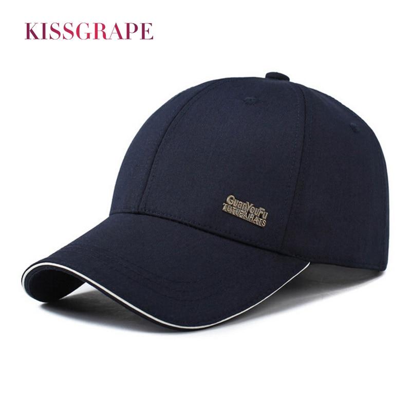 ब्रांड 2018 वसंत शरद ऋतु पुरुषों की बेसबॉल टोपी पुरुष टोपी का छलावरण टोपी सनस्क्रीन गोरस होमब्रेड डैड हैट ग्रे ठोस