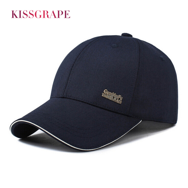 42ce07b2d Brand 2018 Spring autumn men's baseball cap male bone snapback caps hats  Sunscreen gorras hombre dad hat drake grey solid color