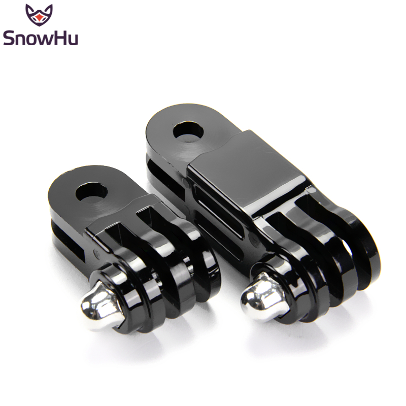 SnowHu For Gopro Accessories Long Short Adjust Arm Straight Joints Mount For Go Pro Hero 8/7/6/5/4for Xiaomi Yi Sjcam Eken GP16