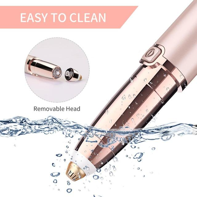 Mini Eyebrow Trimmer Epilators Lipstick Brows Pen Hair Remover Epilator Shaver Razor Instant Painless Eyebrow Razor Epilator 3