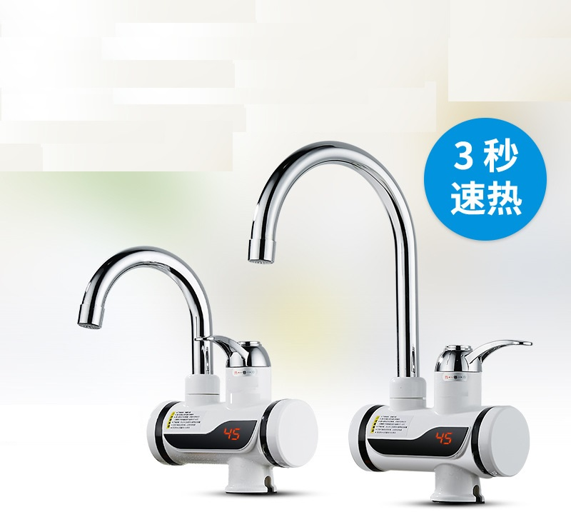 BD3000W-15,free Shipping,Digital Display Instant Hot Water Tap,Tankless Electric Faucet,Kitchen Faucet Water Heater,with EU Plug