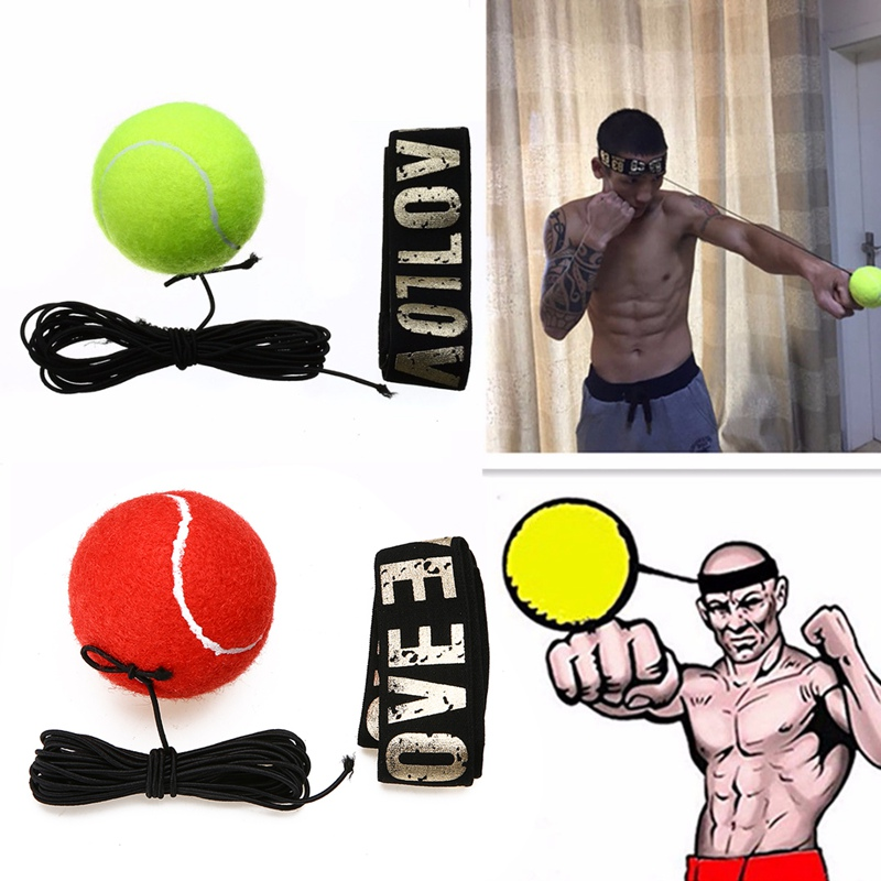 Mayitr New Fight Boxeo Ball Boxing Equipment With Head Band For Reflex Speed Training Bo ...