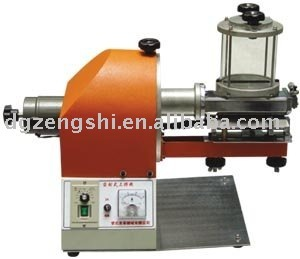 gluing machine for leather goods