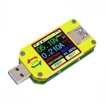 UM34 UM34C for APP USB 3.0 Color Display Voltage Current Tester DC USB Tester Voltmeter Ammeter Voltage battery Charge 30% off