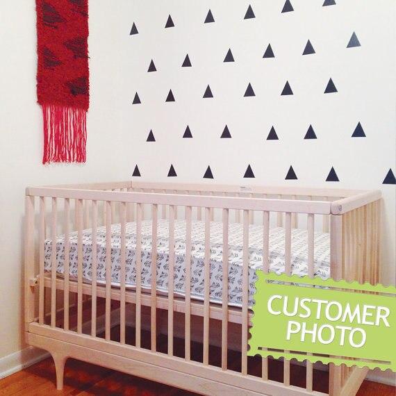 5 cm 60 unids lindo bebé respetuoso del medio ambiente etiqueta de la pared removible etiqueta engomada del PVC impermeable para los niños sala de arte decoración
