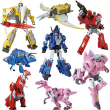 Lensple Transformation Black Mamba Oversize Metal Part Slag Snarl Grimlock Sludge Swoop Dinoking Dinobots Figure Toys
