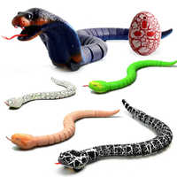 Novelty Rc Snake Naja Cobra Viper Remote Control robot Animal Toy with USB Cable Funny Terrifying Christmas kids Gift