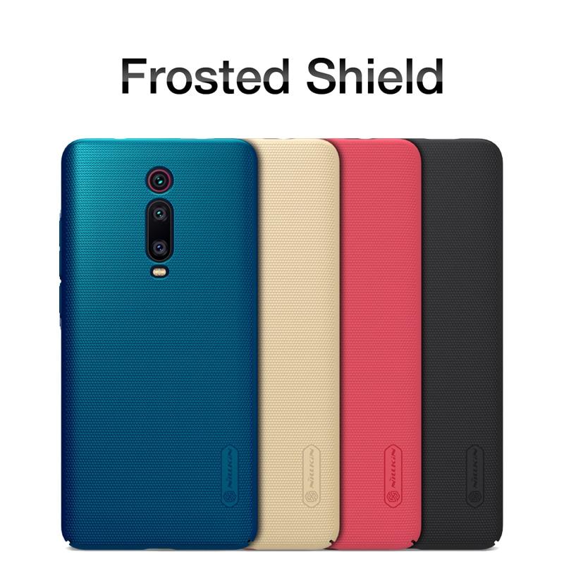 Redmi k20 caso redmi k20 Pro Copertura di NILLKIN Matte Super Glassata Shield Duro Della Copertura Posteriore Per Xiaomi redmi K20 Regalo supporto del telefono