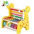 Contas de Brinquedo Música de Piano de Aprendizagem Da Primeira Infância Brinquedos Educativos para Crianças De Madeira Mão Preschool Presente Quadro Cálculo