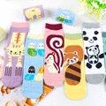 Nuevo Animal En Tubo Calcetines de Algodón Mujeres Múltiples Colores Kawaii Señora calcetín de La Panda Tigre Ovejas Oso Diseños De Harajuku Lindo Sox