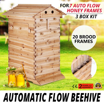 2019 Ultra Simple Beehive Top Quality Natural Wood