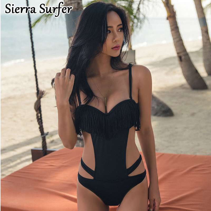 Bathing Suit Women Swimwear One Piece Female Swimsuit Solid Swimsuits Large Size 2018 New Sexy Ladies Striped Polyester Sierra tequila por favor letter custom swimsuit one piece swimwear bathing suit women sexy bodysuit funny swimsuits jumpsuits rompers