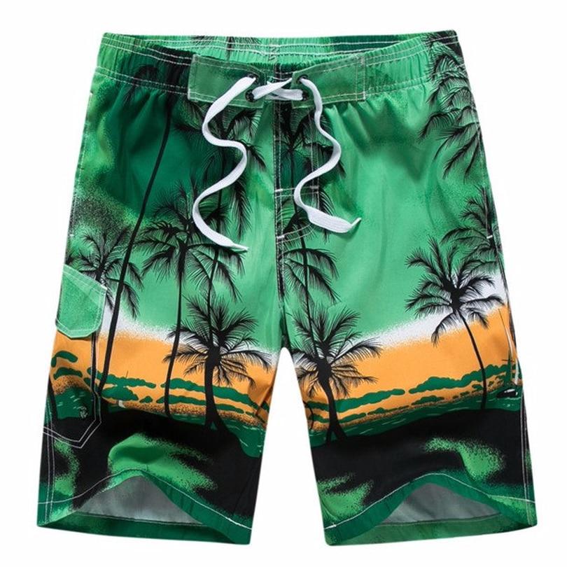 Men Women Sports Surf Boardshorts Swim Pants Beach Quick-drying Short Pants