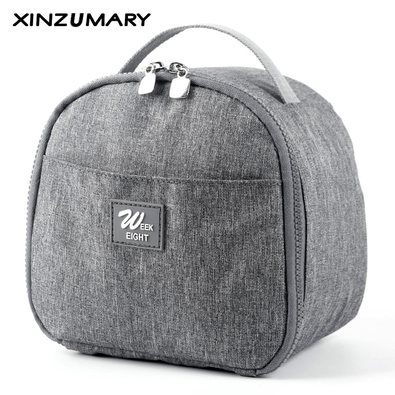 Practical Small Portable Men Ice Bags 5 Color Waterproof Cooler Bag Lunch Leisure Picnic Packet Bento Women Box Food Thermal Bag