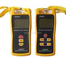 Multimètre à fibers optiques 50 ~ + 26dBm JW3208C compteur dénergie optique portable avec Source de lumière optique JW3109 1310/1550nm
