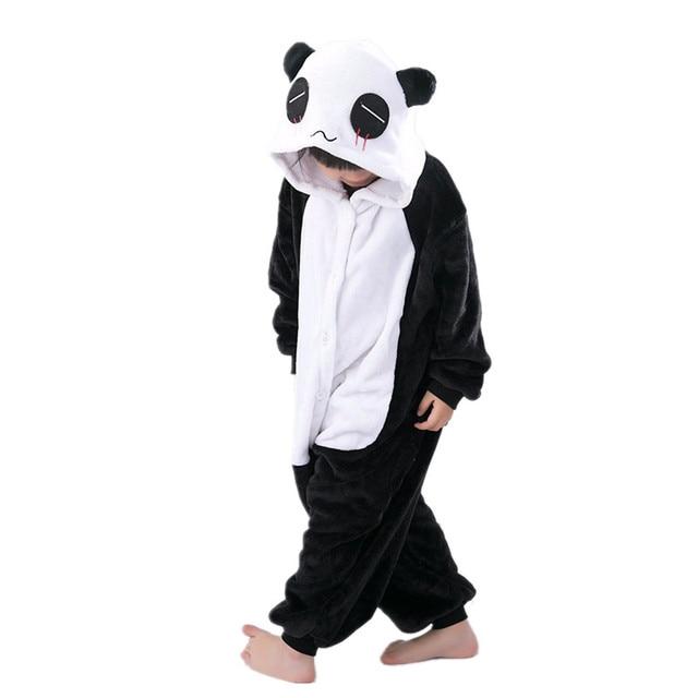 informazioni per 93475 46eac US $20.14 20% di SCONTO Panda Kigurumi Per I Bambini Bambini Tute monopezzo  Pigiama Cosplay Costume Abbigliamento Per Halloween di Carnevale Partito ...