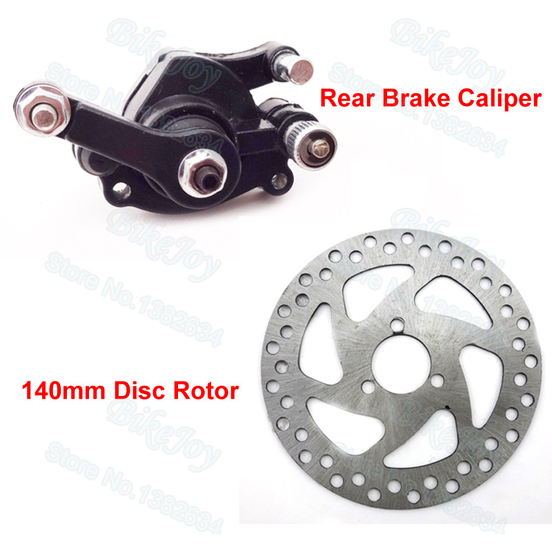 Online Shop 140mm Brake Disc Rotor Rear Caliper For 2 Stroke