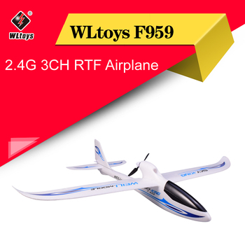 WLtoys F959 Sky-king 2.4G 3CH Wingspan RC Radio Airplane Remote Control Aircraft Fixed Wing Plane Outdoor Toys Drone