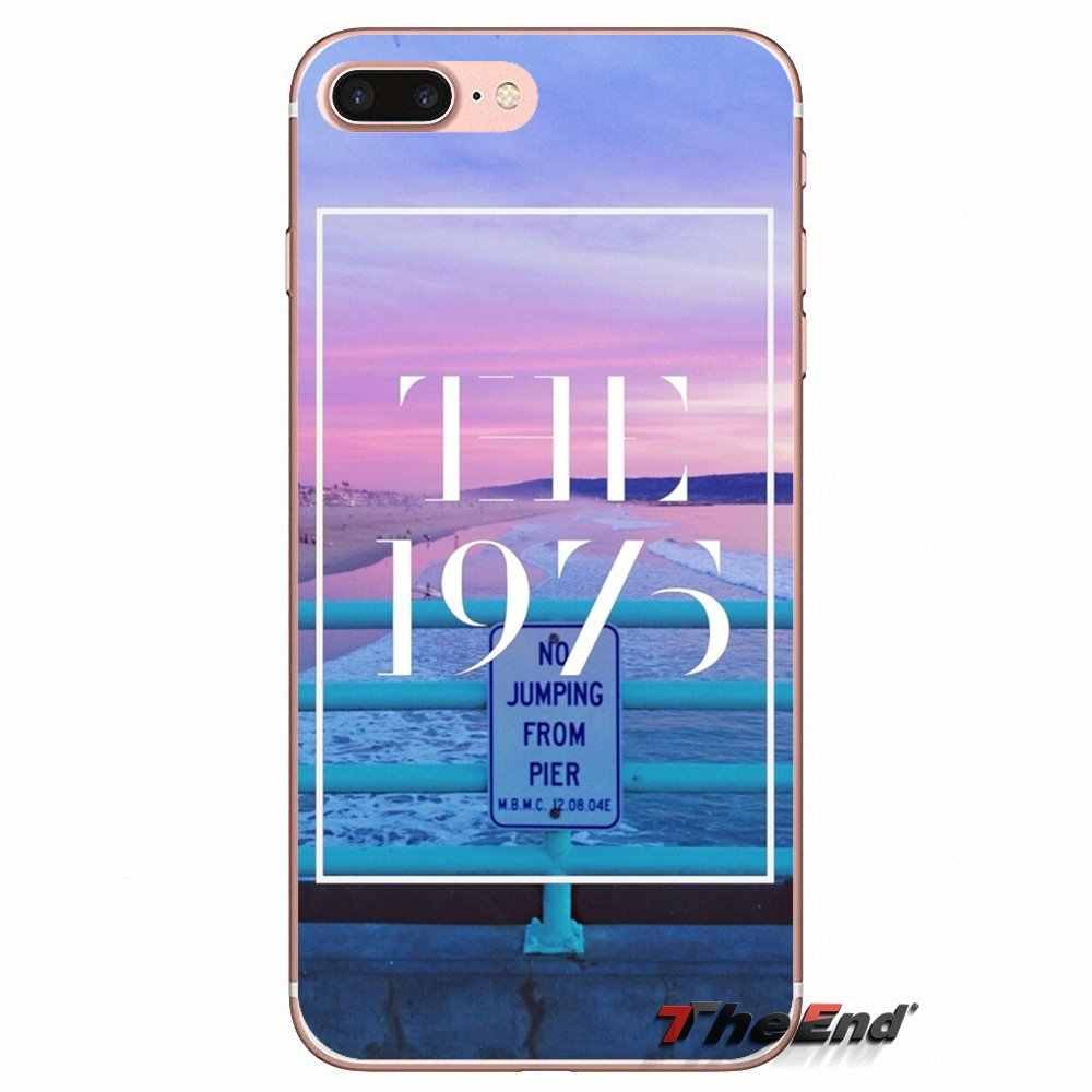 Аксессуары Телефон Случаях Для iPhone Х 4 4S 5 5S 5C SE 6 6 S 7 8 Плюс Samsung Galaxy J1 J3 J5 J7 A3 A5 2016 2017 Рок-группа 1975