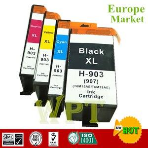 Совместимый чернильный картридж для HP903XL HP907xl, для Hp OfficeJet Pro 6950/6960/6970 принтер все-в-одном [Европа]