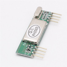 10 шт. rxb6 433 мГц супергетеродинного Беспроводной модуль приемника