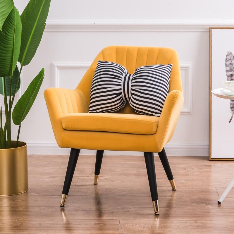 US $203.01 21% OFF|American Single Sofa Chair Modern Minimalist Nordic  Designer Creative Furniture Fashion Casual Tiger Chair-in Living Room Sofas  ...