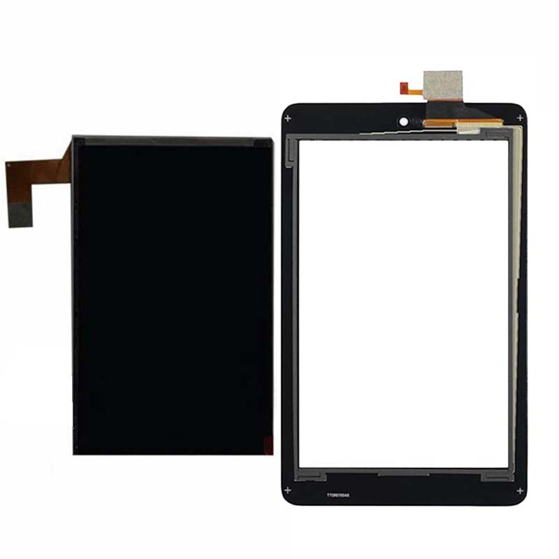 For Dell Venue 7 T01C 3740 Touch Screen Sensor Digitizer Sensor + LCD Display Screen Panel new touch screen with digitizer panel front glass for dell t01c venue 7 3730 free shipping