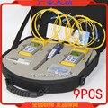 9 шт./компл. стабильный источник света оптический измеритель мощности  волоконно-оптический карандаш  набор для тестирования волокна  набор ...