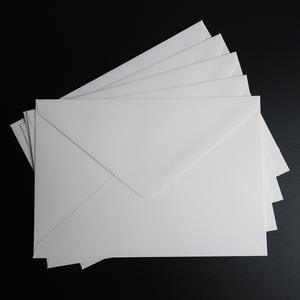 "100pcs 195x135mm(7.6"" x 5.3"") Plain White Envelope Postcard Greeting card Envelope"