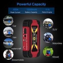 Keen Мощность высокой емкости Портативный 12 В 600A/900A автомобиля Мощность Батарея Booster Buster бензин дизель автомобиля Stlying автомобиль скачок стартер
