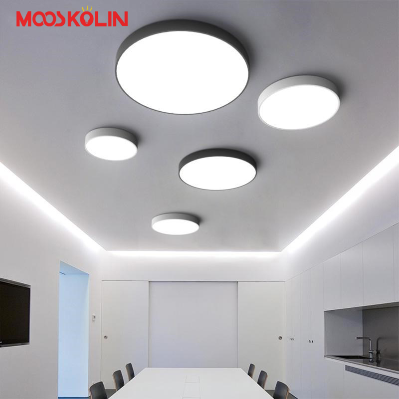 2018 Modern Led Ceiling Chandelier Lights Ultra-thin 5cm plafon Ceiling Chandelier Lamp Fixture For Living Room Bedroom Kitchen modern led ceiling lights for home lighting plafon led ceiling lamp fixture for living room bedroom dining lamparas de techo