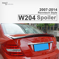 Mercedes C class W204 2007 - 2014 Renntech Style r Style Rear Trunk Spoiler Wings For Benz C Class W204 4 Matic C180 C220 C300