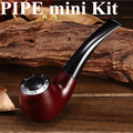 Cigarrillo electrónico E tubería 628 Kit con Tres Cartucho de humo Fit para 510 Hilo atomizador E-pipe 628 Mini vapor X6268
