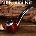 Kit com Três Cartuchos de fumaça de Cigarro eletrônico e tubo 628 Apto para 510 Fio atomizador E Pipe-628 Mini vapor X6268