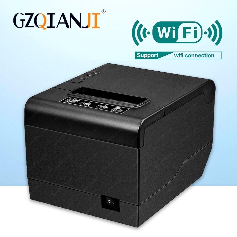 GZ8006 Pos чековый принтер высокого качества 80 мм Термальный чековый USB или wifi bluetooth принтер автоматическая машина для резки принтер 80 мм