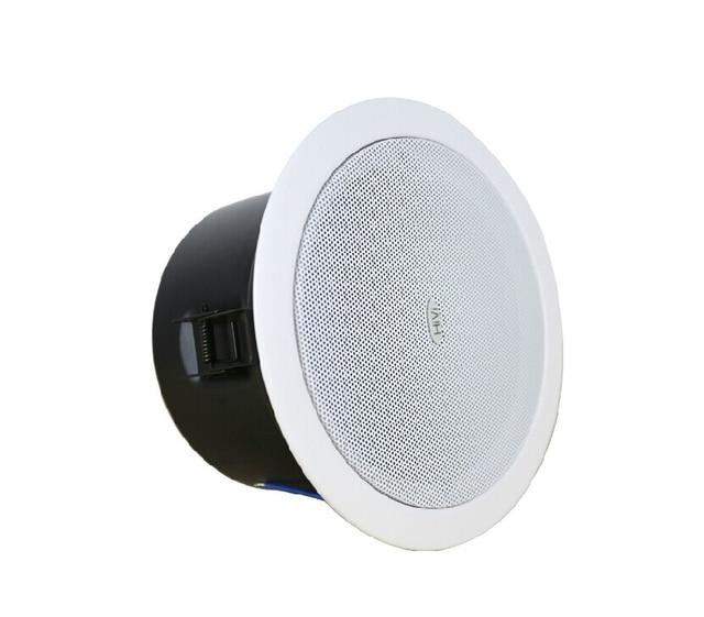 Original HiVi 5.25 Inch Constant Voltage Waterproof Ceiling Speaker Public  Broadcasting Background Music Speaker