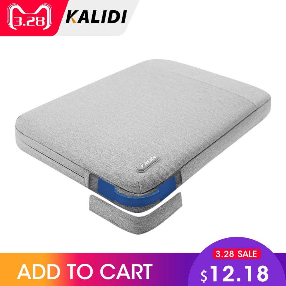 KALIDI Laptop Bag Sleeve 11.6 12 13.3 14 15.6 inch Notebook Sleeve Bag For Macbo