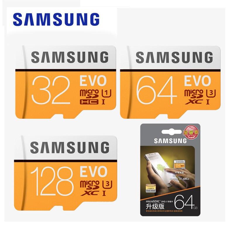 SAMSUNG Micro SD 32gb 64gb 128gb 256gb Cards