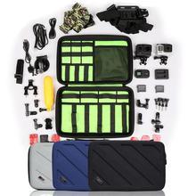 BUBM Профессиональный Противоударный Переноски Чехол для Фотокамеры для Gopro Hero 4, 3 +, 3, 2, 1 и Аксессуары Идеально Подходит для Путешествий или Дома Хранения