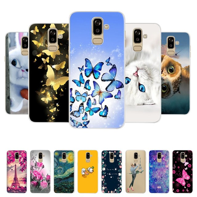 reputable site 24b9b 8603c US $0.8 24% OFF|Case for Samsung Galaxy J8 2018 Case Cover j810 j810f sm  j810f 3D Silicone Back Cover TPU Fundas for Samsung J8 2018 Phone Case-in  ...