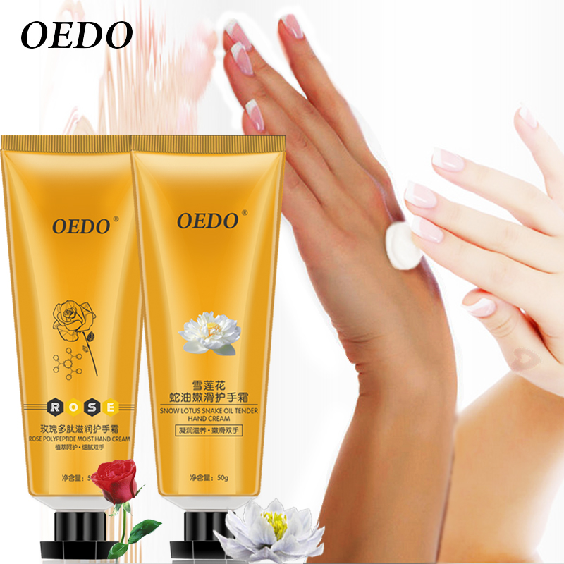 Rose Peptides Snow Lotus Hand Cream Essence Skin Care Whitening Repair Nourishing Dilute Fine Lines Firming Soften Horny Beauty серум за растеж на мигли