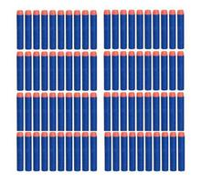 100PCs Soft Hollow Hole Head 7.2cm Refill Darts Toy Gun Bullets for Nerf Series Blasters Xmas Kid Gift