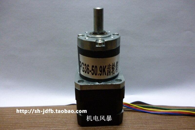 ФОТО 42 stepper motor deceleration 4 line deceleration 42mm stepper motor deceleration 3.7 - 5.2