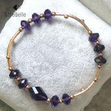 Модные браслеты и покрытые розой с кристаллами для женщин 3a51310