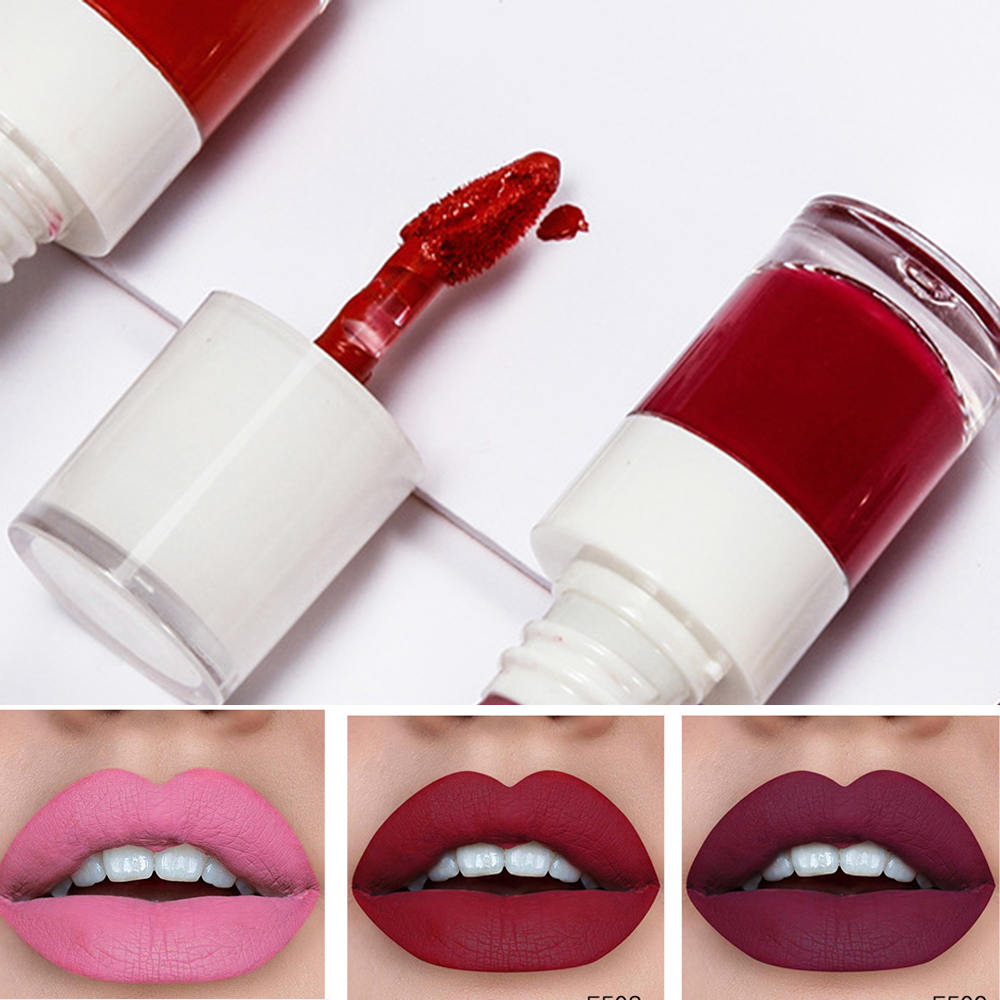 24 Hours Long-Lasting Lip Mist Side Waterproof Non-Marking Non-Stick Cup Liquid Lipstick Dyed Lip Liquid Make-Up 1