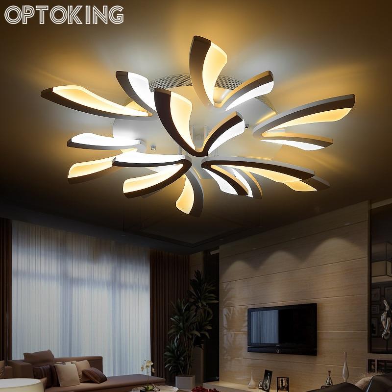 ceiling wall lights bedroom. modern living room ceiling light wall diy acrylic led lamps bedroom home indoor lighting lights